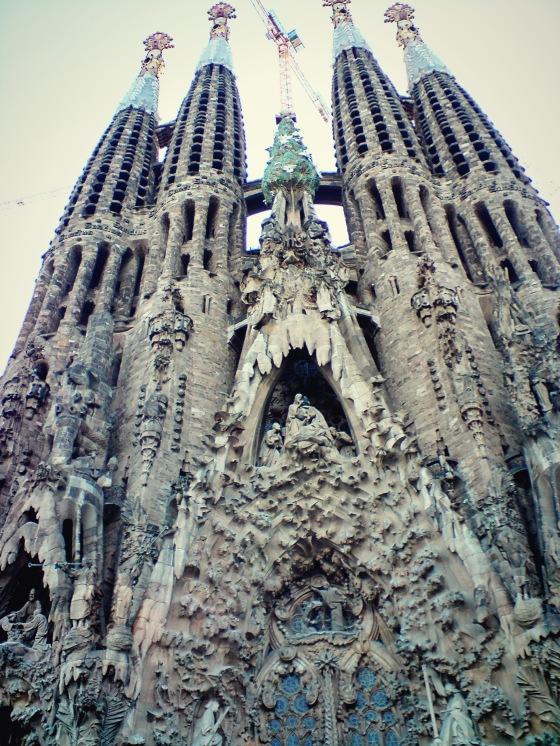La Sagrada Famillia, Barcelona